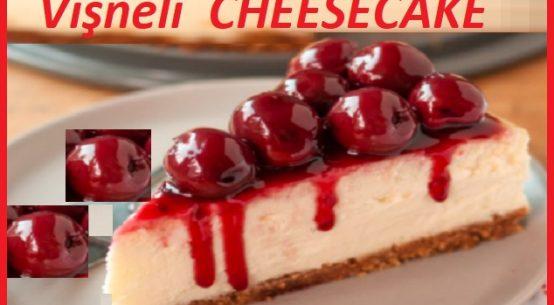 Vişneli cheesecake nasıl yapılır ?