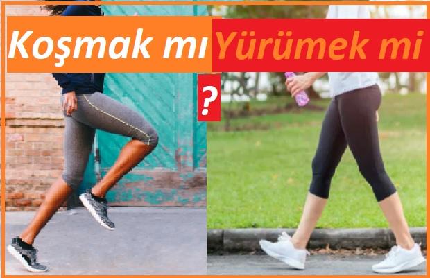 Koşmak mı faydalı , yürümek mi ?