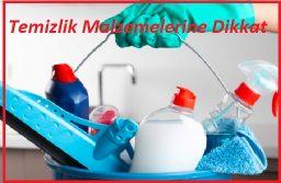 Temizlik malzemelerini sağlıklı olanlarla değiştirin